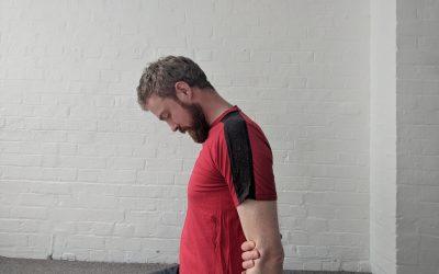 Another shoulder stretch – Lev Scap 2