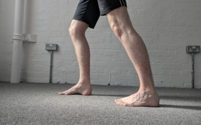 Calf stretches