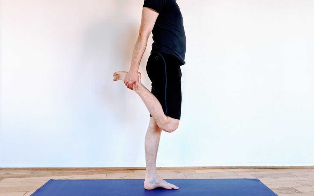 Front of thigh, or Quad stretches
