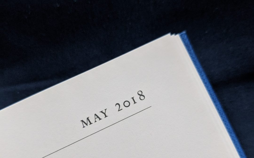 Photo a Day Collection – May 2018