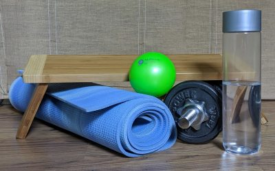 Equipment for Online MFR Self-Care and Yoga Classes